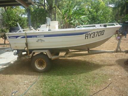 4.2 metre stessco catcher boat