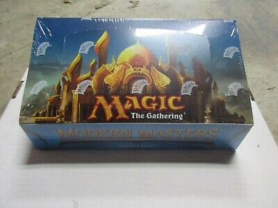 Magic The Gathering 2013 MODERN MASTERS Factory Sealed Booster Box MTG (Magic The Gathering Modern Masters Booster Box)