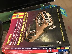 Toyota Tacoma and 4Runner Haynes manual