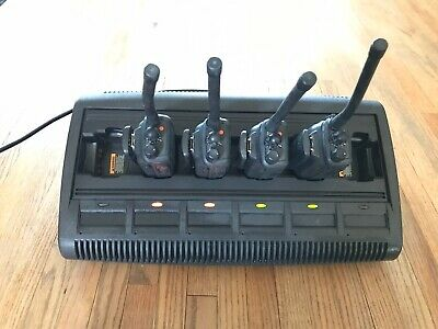 Motorola Impres Gang Charger Wpln4197a Qty 4 Pr860 Radios Used Condition