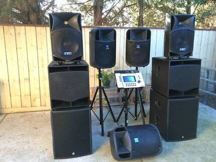 Professional PA System - FBT ProMaxX & HK Audio,Active Speakers Endeavour Hills Casey Area Preview