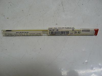 New Cole Parmer Ertco Ew-08126-40 Precision Thermometer 715 Range 24 - 57c