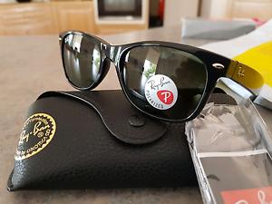 Brand New Ray Ban Polarised Wayfarer Sunglasses Runaway Bay Gold Coast North Preview