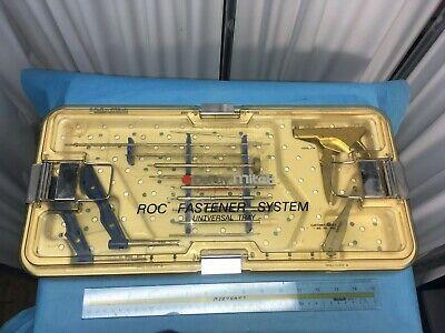 Depuy Mitek 251305 Roc Arthroscopic Drill Guide Instrument Set Fastener Tray