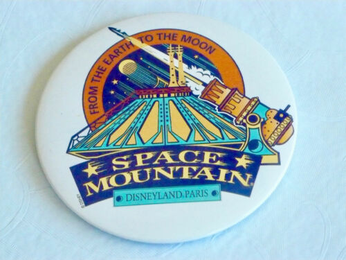 Disneyland Paris Space Mountain Button NEW with Free Shipping
