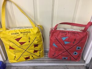 Vintage boat seat cushions