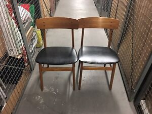 Gorgeous Pair of Scandinavian Farstrup Dining Chairs