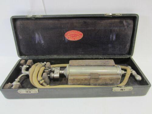 Antique Tiemann Medical Aspirator in Orig. Case M#121