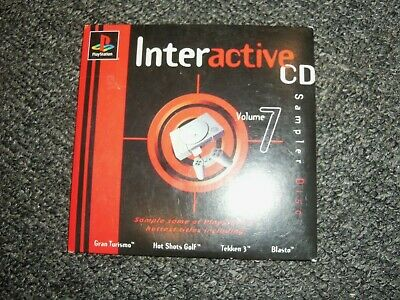 Sony Playstation 1 PS1 Interactive CD Volume 7 Sampler Demo Disc