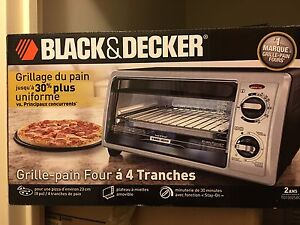 Black & Decker grill and toaster