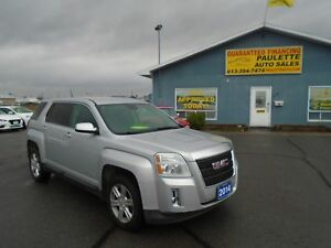 2014 GMC Terrain WWW.PAULETTEAUTO.COM WINTER IS HERE BE READY!!