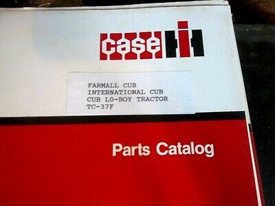 1979 Ih Case Cub Lo-boy Tractor Parts Catalog Tc-37f
