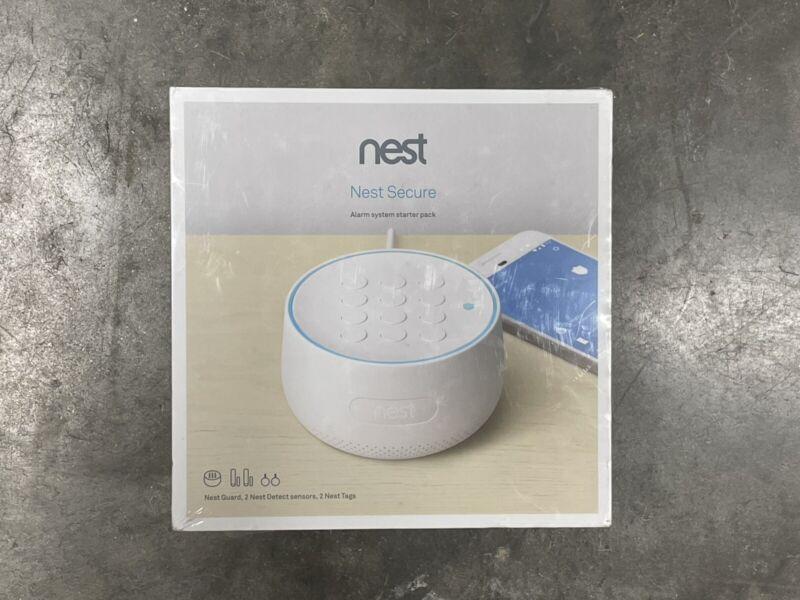 Nest Secure Alarm System Starter Pack H1500ES (SEALED)