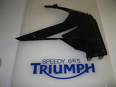 TRIUMPH DAYTONA 675 R RIGHT HAND LOWER PANEL FAIRING JET BLACK  2014 T