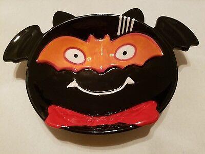 Cute Halloween Bats (Cute Ceramic Halloween Bat Candy Serving)