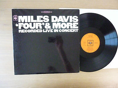 Miles Davis ‎– 'Four' & More - Recorded Live In Concert, D 1966, LP, Vinyl: vg++