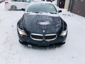 2008 BMW 650i V8 NAVI +PANORA,fully Loaded 149000km 15399$