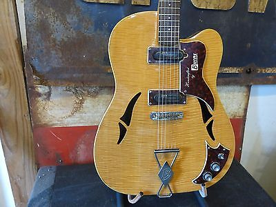 Vintage 1965 Burns Gb65 Electric Guitar  Made In England