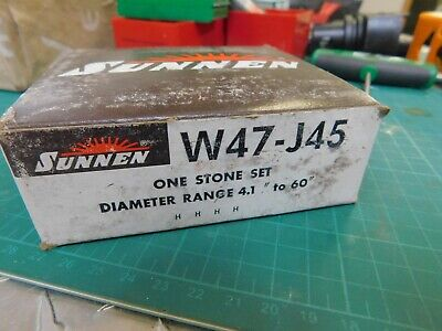 SUPERABRASIVES D44//30//M42 J8-196C DIAMOND HONING STONES NEW CONDITION IN BOX