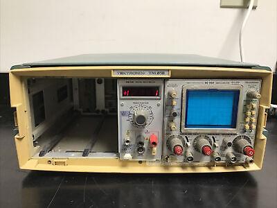 Tektronix Tm-515 Mainframe W Dm 501 Digital Multi-meter Sc 502 Oscilloscope
