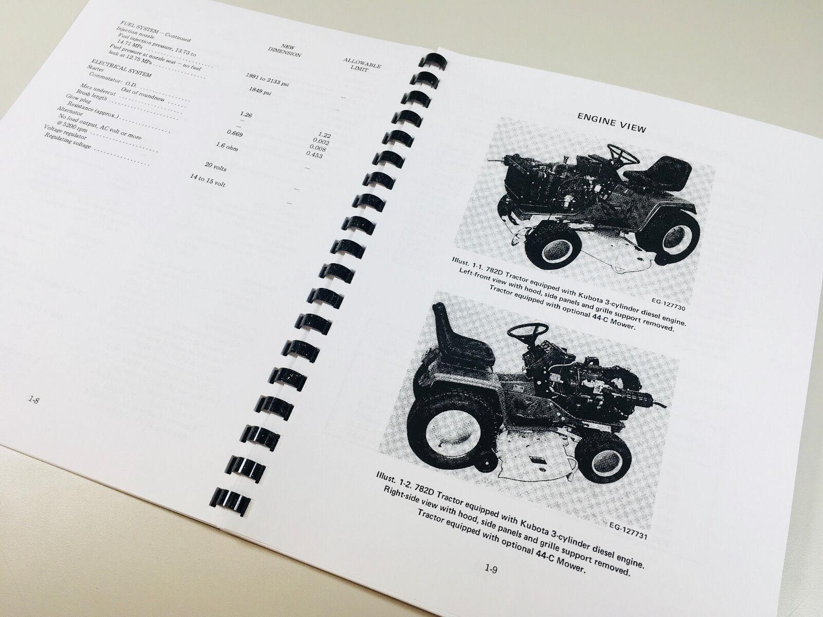... manuals rh picturelights club Array - kubota g5200 garden tractor  diesel engine electrical service manual rh ebay com