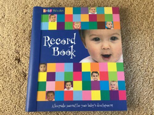 NEW BABY SENSES FIRST YEAR + MILESTONE MEMORY RECORD BOOK KEEPSAKE JOURNAL GIFT!