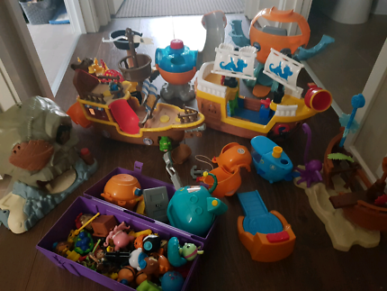 Pirate ship dolls house - must sell ASAP | Toys - Indoor | Gumtree ...