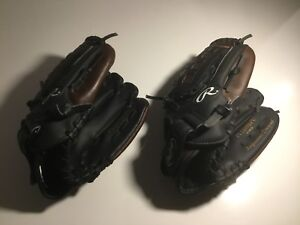 Two Rawlings Child Gloves (RH) - New