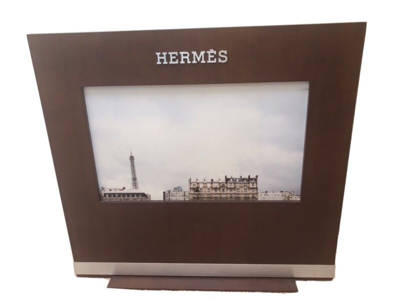 """Hermes Store Sign Factory + Watch - Double Sided 25"""" x 23"""""""