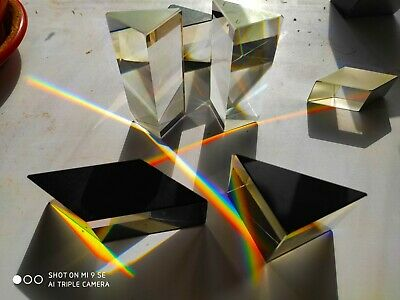 Optical Glass Prism For Photo And Experiments Bak4
