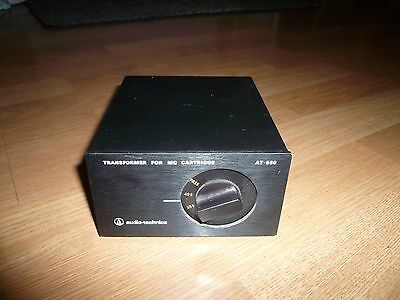 Audio-Technica AT-650 Step Up Transformer MC Moving Coil Phono Cartridge JAPAN