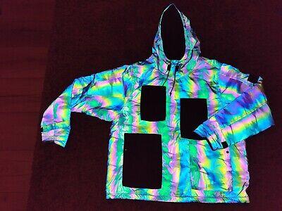 Stone Island Scarabeo Shadow Project 10 years reflective jacket L NO CERTILOGO