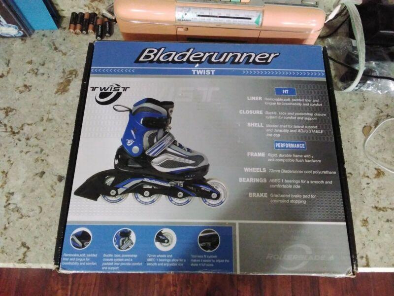 Bladerunner Twist Boys Adjustable Inline Skate Size 1-4