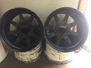 17 inch 5 bolt dodge offset rims