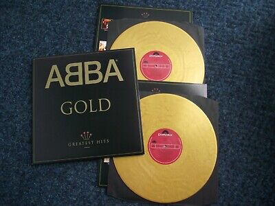 ABBA - GOLD - double gold vinyl compilation in superb condition