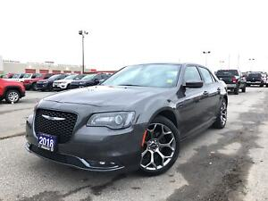 2018 Chrysler 300 S**LEATHER**BLUETOOTH**8.4 TOUCHSCREEN**