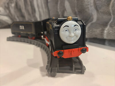 THOMAS & FRIENDS TRACKMASTER THE TRAIN HIRO + Tender #51 MOTORIZED Untested