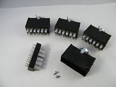 4 New 12 Pin Blade Male Electrical Connector