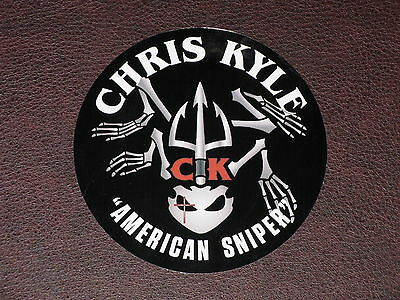 American Sniper Vinyl DECAL STICKER US Navy Seal FROG SKELETON Chriss Kyle NEW