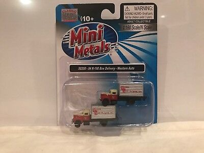 # 50350 1/160 MINI METALS N SCALE IH R-190 BOX DELIVERY - WESTERN AUTO, used for sale  Brandon