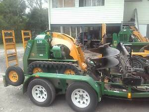 Mini Digger Hire Trenching, Post Holes Levelling Turf Preparation Logan Central Logan Area Preview