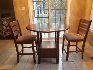 Moving Sale - Kitchen Table and two Chairs  - $300