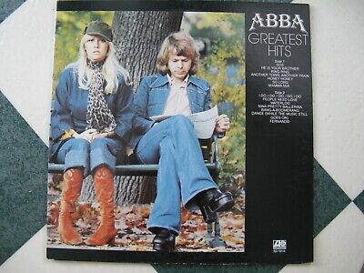 ABBA Greatest Hits Atlantic Records 1977 Vinyl Record LP / EXC