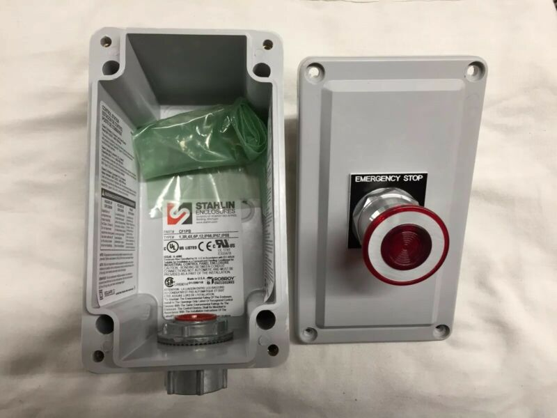 SQUARE D 9001SKY100 Emergency Stop Control Station