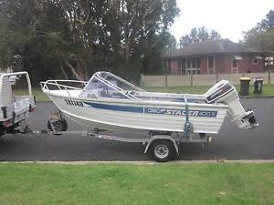 4.0m Aluminium Stacer Runabout Wollongong Wollongong Area Preview