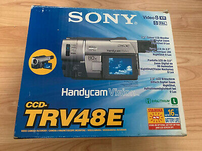 Sony CCD-TRV48E Handycam Vision With Nightshot Bundle + ACCESSORIES CCD-TRV48E