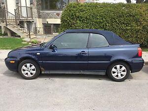 VW cabrio 2001 en excellent état