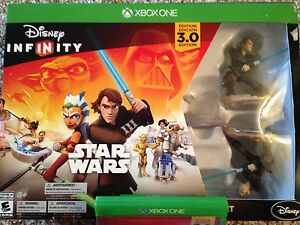 Disney infinity 3.0 with game pad and Star Wars starter pack