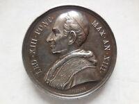 Vaticano Medaglia Argento Leone Xiii Anno Xiii -  - ebay.it