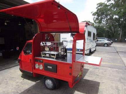 Coffee Cart ( 50cc Italian Piaggio Ape)